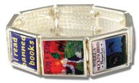 Banned Books Children's Titles Bracelet - Events and Celebrations - Clothing, Gifts, and Incentives - Products for Young Adults - ALA Store