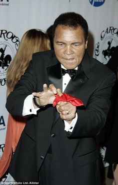 Muhammad Ali has died aged 74, a day after he was rushed to hospital with difficulty breathing and 32 years after he was diagnosed with Parkinson's disease