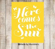 Here Comes the Sun ~ ce que vous devez savoir ~  ♥ Il sagit dun fichier numérique (rien de physique sera envoyé à vous)  ♥ une fois que vous achetez