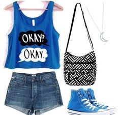The Fault in Our Stars outfit❤