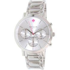 Kate Spade Women's Gramercy 1YRU0714 Silver Stainless-Steel Quartz Watch