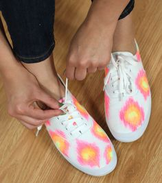Just for Me Ikat Sneakers