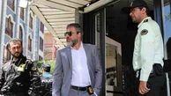 امیر آقایی در یک سریال جنایی   عکس