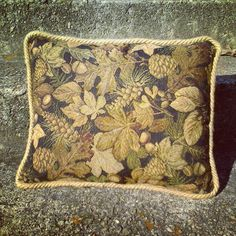 Forest Floor Feather Pillow runner up prize upgrade in the Thanksgiving #Giveaway  barnetthomedecor.com