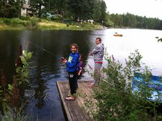 Jj and Gracie fishing!!!