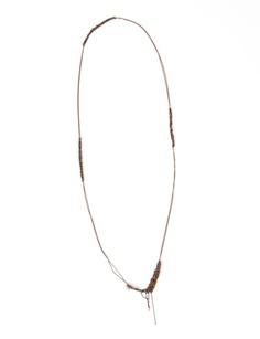 arielle de pinto chain + crochet necklace