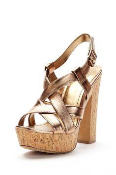vince camuto - duval strappy platform sandal (summer bronze)