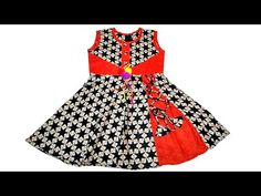 Baby Dresses Design: How To Learn Cutting And Stitching For Designer Baby Frock Full Tutorial Baby Girl Frock Design, Baby Girl Dress Patterns, Baby Summer Dresses, Baby Girl Dresses, Girls Blue Dress, Toddler Girl Dresses, Baby Girl Lehenga, Cotton Frocks For Kids, Baby Girl Birthday Dress