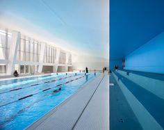 Hallenbad bei Paris saniert und erweitert / Baden in Bagneux - Architektur und Architekten - News / Meldungen / Nachrichten - BauNetz.de