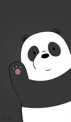 Pin Violet Nikole On Wallpapers Bear Wallpaper Panda pertaining to We Bare Bears Wallpaper Violet - All Cartoon Wallpapers