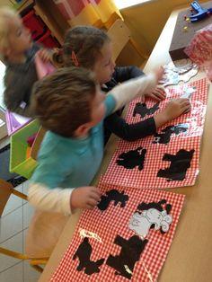 Farm Animals Preschool, Preschool Worksheets, Busy Boxes, Montessori, Creative, Amelie, Kids, Education, Sensory Stimulation