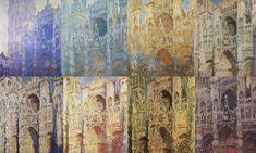 Catedral Rouen: Se tratan de las series tan características de Monet. Son varios cuadros de la catedral de Rouen a distintas horas del día, con luces completamente distintas. Busca la captación del momento. Y no se ve la catedral entera, está cortada, por lo tanto influencia fotográfica.