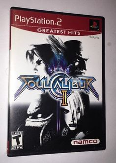 Soul Calibur II Greatest Hits (Sony PlayStation 2, 2003) INCLUDES BOOKLET  | eBay