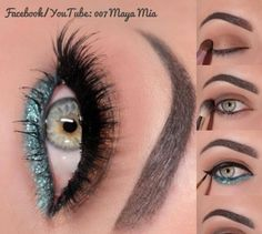 eye makeup https://www.facebook.com/7KyatBnaat?ref=bookmarks