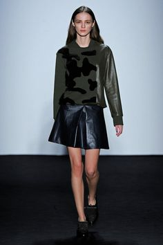 Timo Weiland Fall 2013 Women's Collection #NYFW