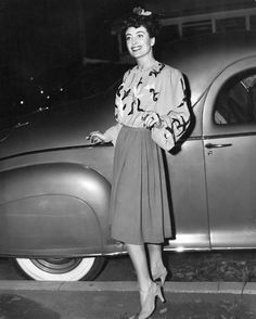 Film Noir Photos: Out on the Town: Joan Crawford