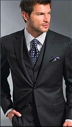 3 piece elegance #groom #groomsmen #wedding