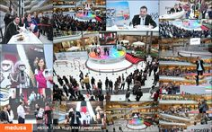 Çelik ve Çeliknaz'ın düğününü Cevahir AVM'de Yaşar'la tekrar kutladık. Organizasyonunu düzenlediğimiz etkinlikten kareler :)
