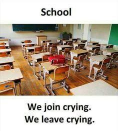 Enjoy your school days Funny School Jokes, School Humor, School Fun, Bff Quotes, Friendship Quotes, True Quotes, Funny Qoutes, Funny Memes, School Life Quotes