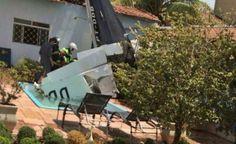 Três pessoas morrem em acidente com monomotor em Rio Preto: De acordo com o Corpo de Bombeiros, a causa do acidente será investigada.