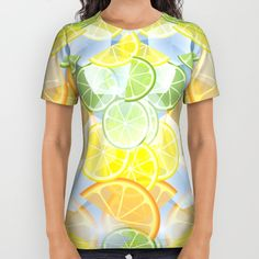 When life gives you citruses... All Over Print Shirt by Okopipi Design | Society6