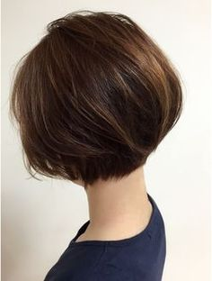 Bob haircut at nape line