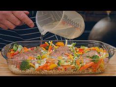 Dziś Tomasz zrobił ,, FIT obiad... kurczak kasza i warzywa /Oddaszfartucha - YouTube Casserole, Food And Drink, Mexican, Make It Yourself, Ethnic Recipes, Youtube, Film, Per Diem, Cuisine