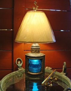 Charmant Lamp · Nautical TableNautical LampsLight ...