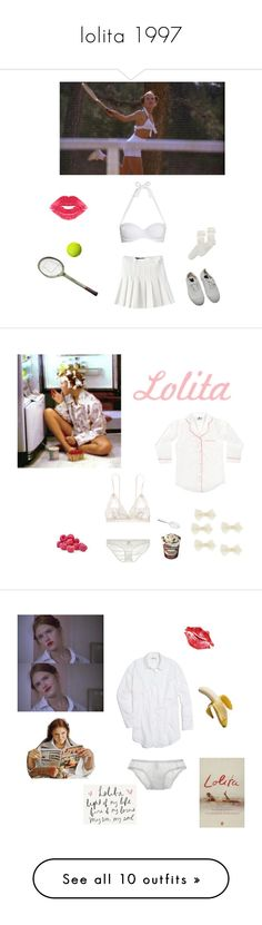 """lolita 1997"" by littlesweetheart123 ❤ liked on Polyvore featuring John Lewis, Forever 21, Bensimon, Malabar Bay, Hanky Panky, Only Hearts, Accessorize, Alessi, vintage and Madewell"