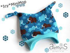 aefflynS - to go: FREEBOOK *Icy*MiniMop - die gefütterte Knotenmütze...