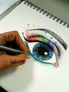 Eye Believe by artisticalshell on deviantART