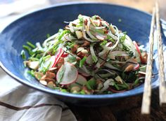 Triple Radish Noodle Salad by My New Roots