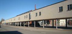 Vanha köysitehdas, nykyinen Turun taideakatemia | Former rope factory, now Arts Academy in Turku, Finland.