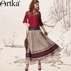 Image from http://i00.i.aliimg.com/wsphoto/v0/32224567090_1/Artka-Women-S-Autumn-Winter-Vintage-Collect-Waist-National-Embroidery-Contrast-Color-Patchwork-Cotton-Skirt-QA10648X.jpg.