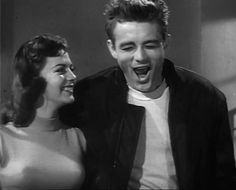 , Natalie Wood and James Dean