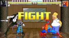 Spider-Man And Homer Simpson VS Beerus The God of Destruction And Jeff The Killer In A MUGEN Match This video showcases Gameplay of Jeff The Killer From Creepypasta And Beerus The God of Destruction From Dragon Ball Super Series VS Homer Simpson From The Simpsons Series And Spider-Man The Superhero In A MUGEN Match / Battle / Fight