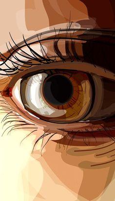 illustrations on Behance -You can find Behance and more on our website.illustrations on Behance - Tableau Pop Art, Arte Black, Polygon Art, Arte Pop, Portrait Art, Pop Art Portraits, Vector Portrait, Art Inspo, Vector Art