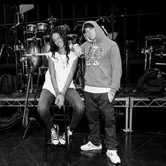 Eminem and Rihanna, wish they could be my parents