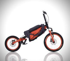 Bergmönch folding backpack bicycle