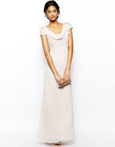 Lipsy VIP Cowl Neck Maxi Dress
