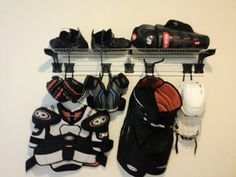 how to make hockey equipment drying tree - Google Search