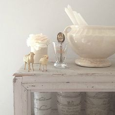 certainly lovely indeed. Beautiful white on white decorating ideas, shabby chic style, and Swedish inspired interiors. Come see this Nordic French home tour.of My Petite Maison. Shabby Chic Interiors, Shabby Chic Homes, Shabby Chic Style, Shabby Chic Furniture, Shabby Chic Decor, Scandi Style, Rustic Style, Rustic Decor, Nordic Interior Design