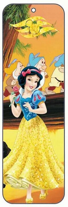 Bookmark Snow White