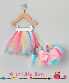 Stinkin adorable Easter Basket and Matching Tutu Set by AllTheLittleThings10, $37.00
