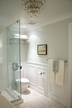 Bright and light bathroom