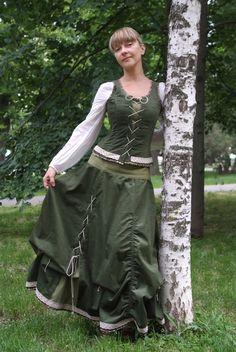 бохо + фолкю наряд от Ларисы Рядновой. Мастерская Ладамода.