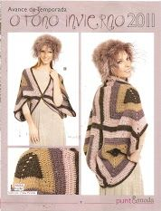 Such a great crochet idea!! A very special shrug made out of 4 full granny squares assembled together! You sew the 4 corners together and here you go! <3