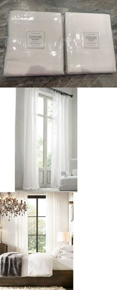curtains drapes and valances 2 restoration hardware stonewashed cotton linen drapes drapery 50 x