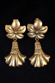 Joseff of Hollywood Lotus Blossom Earrings