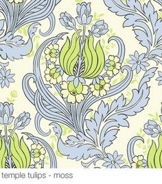 Amy Butler wallpaper-this one is also beautiful with wonderful colors.
